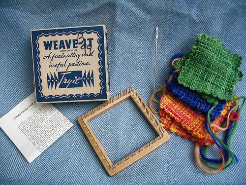 Adventures in Weaving - Elemental Stitches