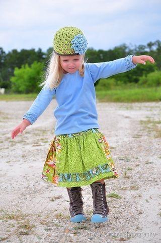 Twirl Ruffle Skirt